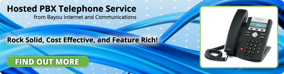 Hosted PBX Telephone Service