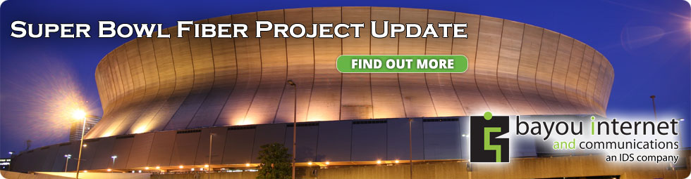 Super Bowl Fiber Project Update